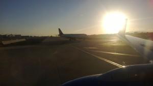 Landing in LA