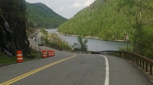 Beautiful Lake Placid bike course