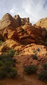 Hiking Red Rocks NV