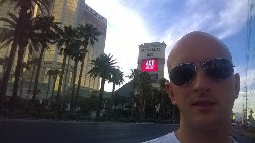 Brief stop off in Vegas on the way through